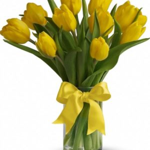 10 YellowTulips
