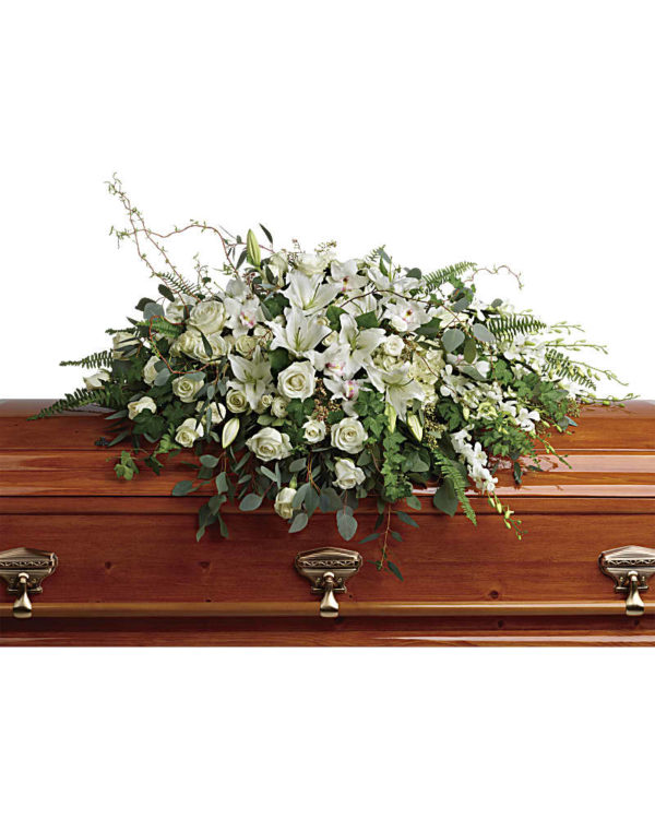 whitegardencasket